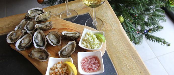 3 accompagnements pour huîtres creuses